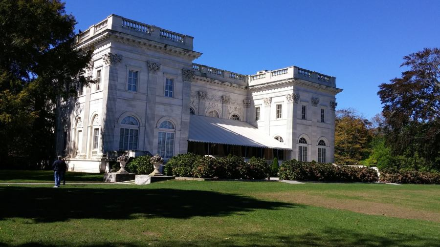 The Marble House Mansion Newport